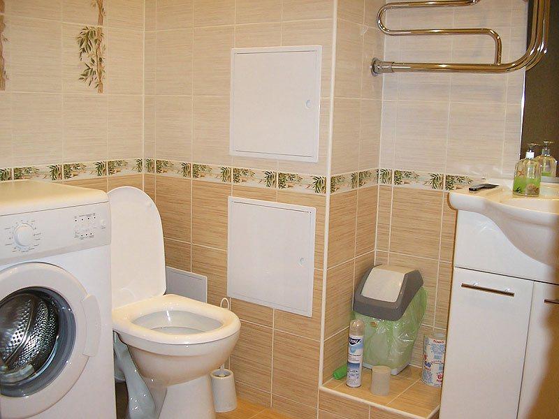 Ремонт в ванной комнате силами компании Строй Комплект Сервис
